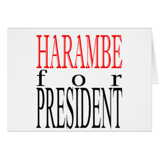 good harambe election president vote guardian gori card