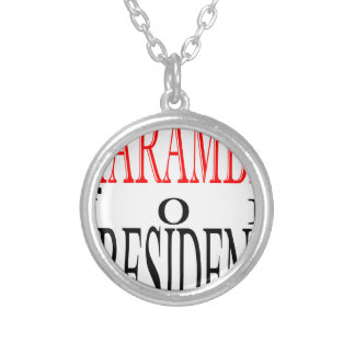 good harambe election president vote guardian gori silver plated necklace