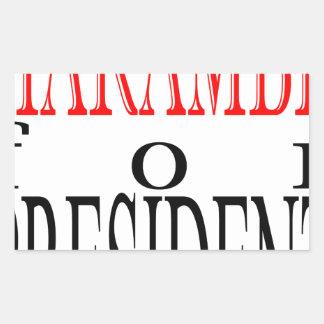good harambe election president vote guardian gori sticker