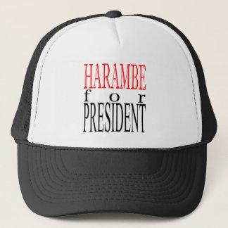 good harambe election president vote guardian gori trucker hat