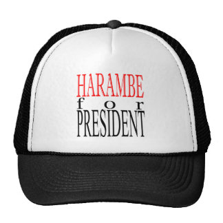 good harambe election president vote guardian gori trucker hat