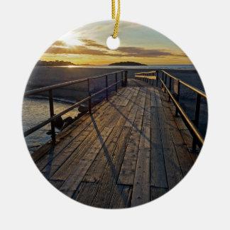 Good Harbor Beach Christmas Ornament