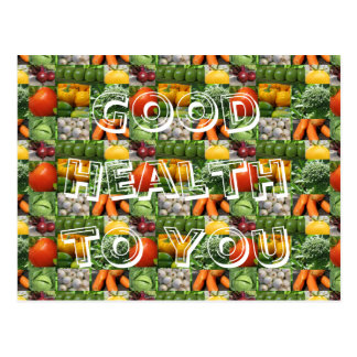 Good Health to You Postcard