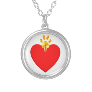 Good Heart Silver Plated Necklace