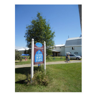 Good Hope Farm, North Hero Vermont Postcard