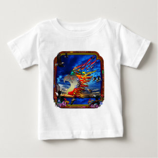 Good Hunting Eagle Sky background clear edge Baby T-Shirt