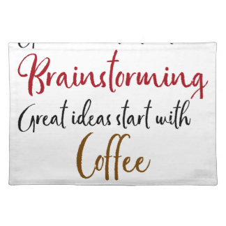 Good ideas placemat