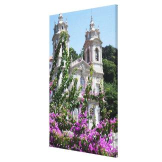 Good Jesus Of The Mount Church Canvas Print