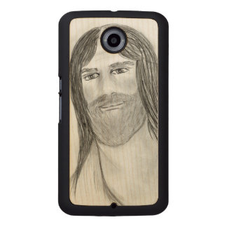 Good Jesus Wood Phone Case