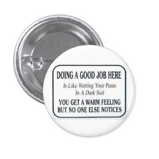 Good Job 1 Inch Round Button