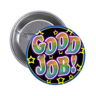 Good Job! 2 Inch Round Button
