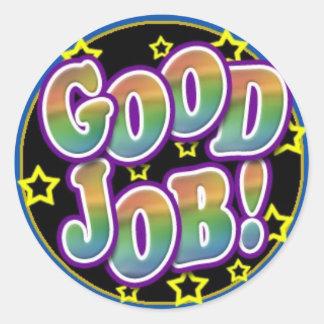Good Job Classic Round Sticker