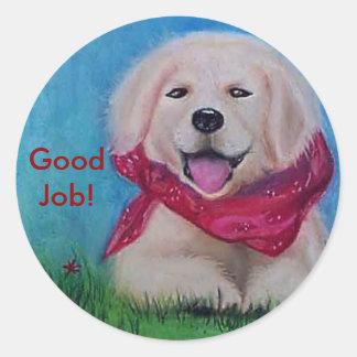 Good Job! Classic Round Sticker