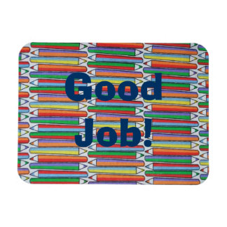 Good Job Colored Pencils Magnet Personalized