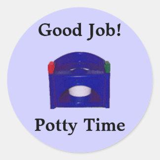 Good Job! Potty Time Stickers