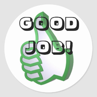 Good Job! stickers