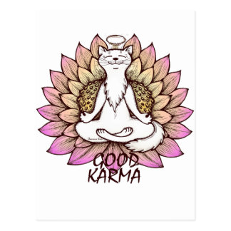 Good Karma Postcard