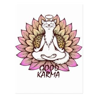 Good Karma Postcard