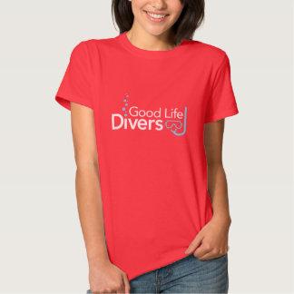 Good Life Diver's women's Dark tee