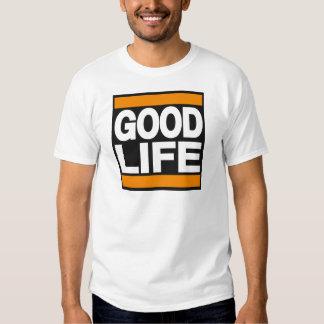 Good Life Orange T Shirt