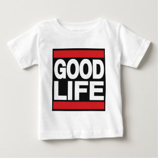 Good Life Red Baby T-Shirt