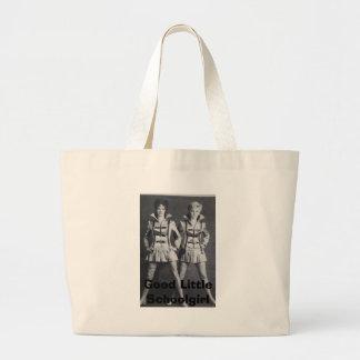 Good Little Schoolgirl Large Tote Bag