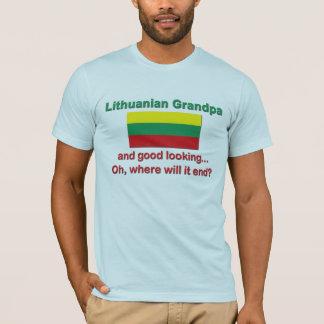 Good Lkg Lithuanian Grandpa T-Shirt