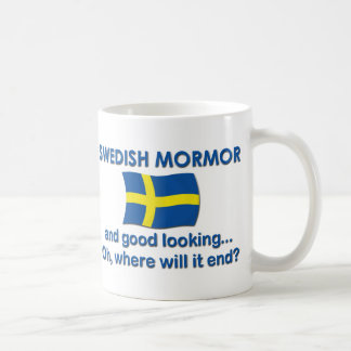 Good Lkg Swedish Mormor (Grandma) Coffee Mug