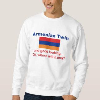 Good Looking Armenian Twin Sweatshirt