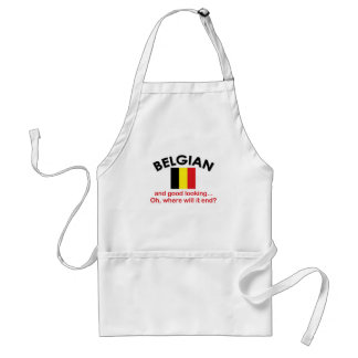 Good Looking Belgian Standard Apron