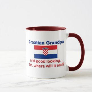 Good Looking Croatian Grandpa Mug