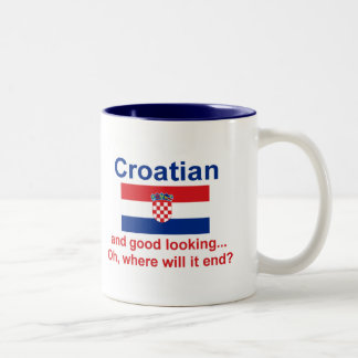 Good Looking Croatian Two-Tone Coffee Mug
