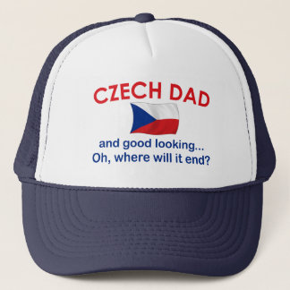Good Looking Czech Dad Trucker Hat