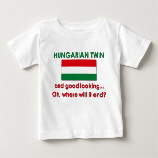 Good Looking Hungarian Twin Baby T-Shirt