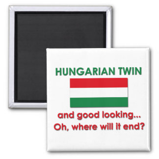 Good Looking Hungarian Twin Magnet