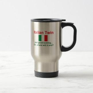 Good Looking Italian Twin Travel Mug