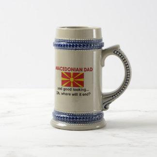 Good Looking Macedonian Dad Beer Steins