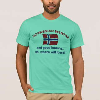 Good Looking Norwegian Bestefar T-Shirt