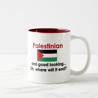Good Looking Palestinian Two-Tone Coffee Mug