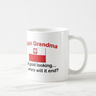 Good Looking Polish Grandma Coffee Mug