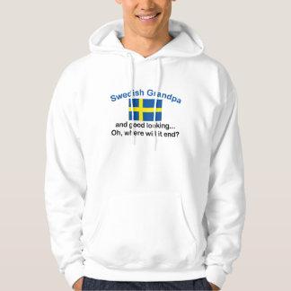 Good Looking Swedish Grandpa Hoodie