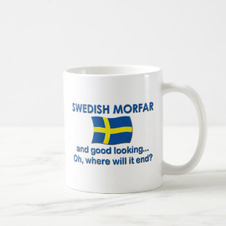 Good Looking Swedish Morfar (Grandpa) Coffee Mug