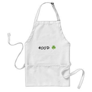 Good Luck 4 leaf clover Emoji Special one Standard Apron