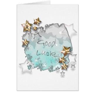Good Luck Card - Lucky Stars