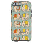 Good luck circus elephants cute elephant pattern tough iPhone 6 case
