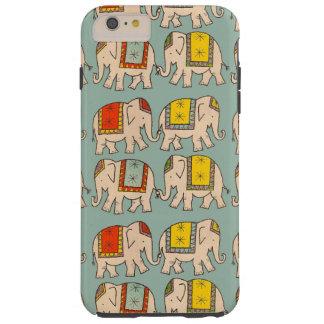 Good luck circus elephants cute elephant pattern tough iPhone 6 plus case