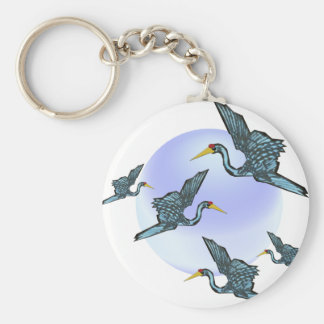 Good luck crane keychain
