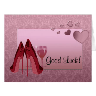 Good Luck from Us All Greeting Card
