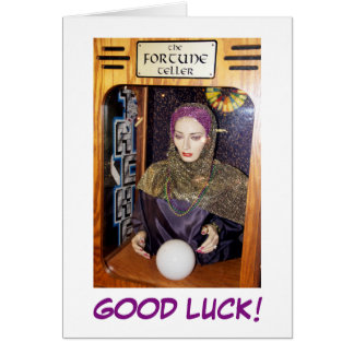 Good Luck! Greeting Card