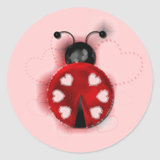 Good Luck Ladybug Sticker